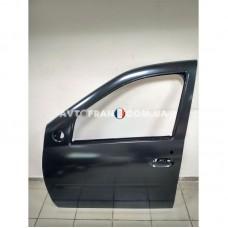 801014373R Дверь передняя левая (без молдинга) Dacia Logan (2005-2012) Оригинал
