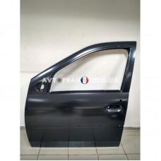 801016598R Дверь передняя левая (под молдинг) Renault Logan (2008-2012) Оригинал