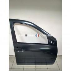 801005442R Дверь передняя правая (без молдинга) Dacia Logan (2005-2012) Оригинал