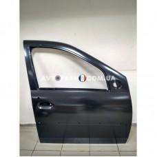 801001895R Дверь передняя правая (под молдинг) Renault Logan (2008-2012) Оригинал