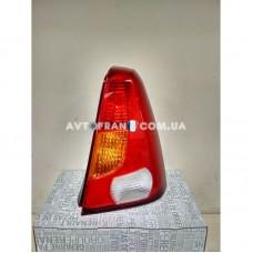 6001548136 Фонарь задний правый (без платы) Dacia Logan (2005-2008) Оригинал