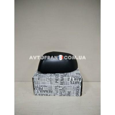 963736608R Накладка зеркала правая (черная) Renault Dokker (2013-...) Оригинал