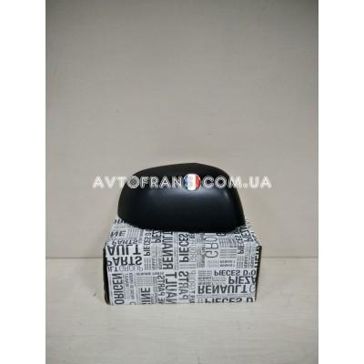 963747626R Накладка зеркала левая (черная) Renault Dokker (2013-...) Оригинал