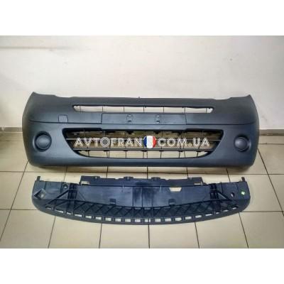 7701478128 Бампер передний (комплект) Renault Kangoo 2 (2008-2013) Оригинал