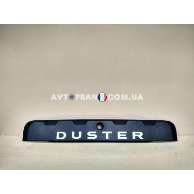 848102971R Молдинг (накладка) крышки багажника Renault Duster (2015-2017) Оригинал