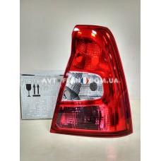 6001551481 Фонарь задний правый (корпус) Renault Logan (2009-2012) Оригинал