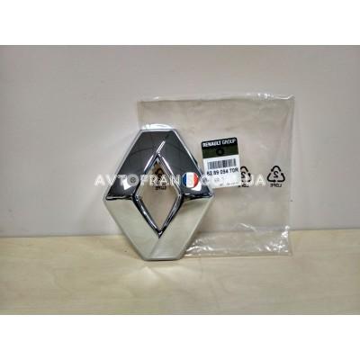 Логотип (Значок) Renault передний Renault Logan 2 Оригинал 628909470R