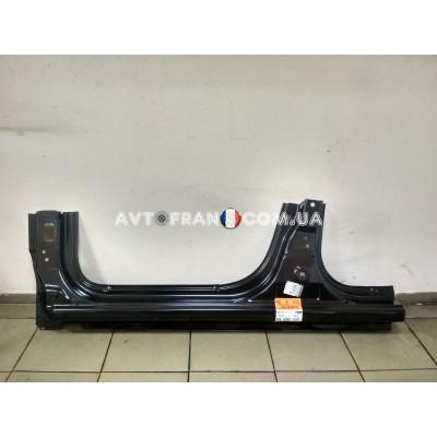 764613168R Порог левый Renault Logan 2 (2013-...) Оригинал