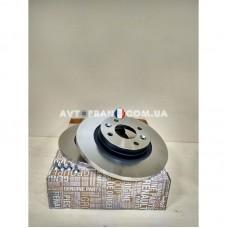 7701208252 Диски тормозные передние (комплект 2 шт.) Renault Logan (2009-2012) Оригинал