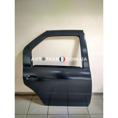 821009214R Дверь задняя правая (под молдинг) Renault Logan (2009-2012) Оригинал