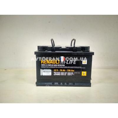 7711238598 Аккумуляторная батарея 70 Ah 720 A Renault Оригинал