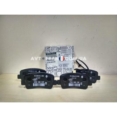 440603321R, 440604591R Колодки тормозные задние Renault Master 3 (2010-...) Оригинал