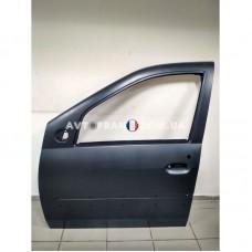 801013696R Дверь передняя левая (под молдинг) Dacia Logan MCV (2007-2012) Оригинал