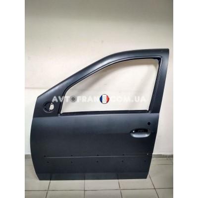 801013696R Дверь передняя левая (под молдинг) Renault Logan MCV (2009-2012) Оригинал