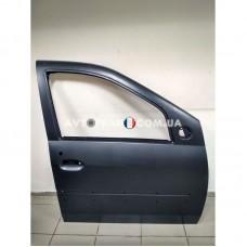 801002133R Дверь передняя правая (под молдинг) Dacia Logan MCV (2007-2012) Оригинал