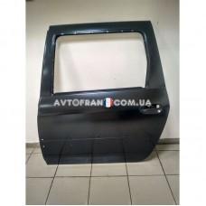 821017307R Дверь задняя левая (под молдинг) Dacia Logan MCV (2007-2012) Оригинал