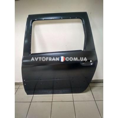 821017307R Дверь задняя левая (под молдинг) Renault Logan MCV (2009-2012) Оригинал
