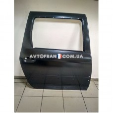 821009310R Дверь задняя правая (под молдинг) Dacia Logan MCV (2007-2012) Оригинал