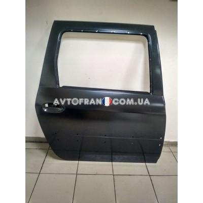821009310R Дверь задняя правая (под молдинг) Renault Logan MCV (2009-2012) Оригинал