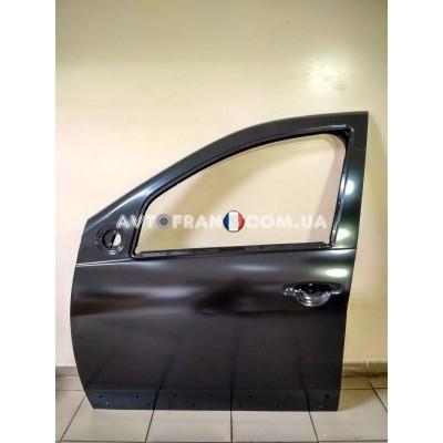 801011499R Дверь передняя левая (под молдинг) Dacia Sandero (2008-2012) Оригинал