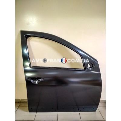 801006248R Дверь передняя правая (под молдинг) Renault Sandero (2009-2012) Оригинал