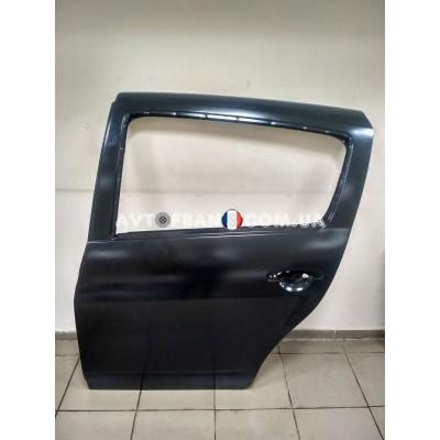 821012255R Дверь задняя левая (без молдинга) Renault Sandero (2009-2012) Оригинал