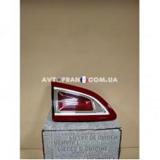 265550018R Фонарь задний левый внутренний Renault Scenic 3 (2009-2012) Оригинал