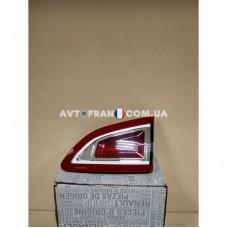 265500018R Фонарь задний правый внутренний Renault Scenic 3 (2009-2012) Оригинал
